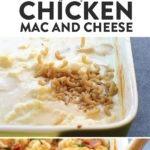 macarrones con queso de pollo