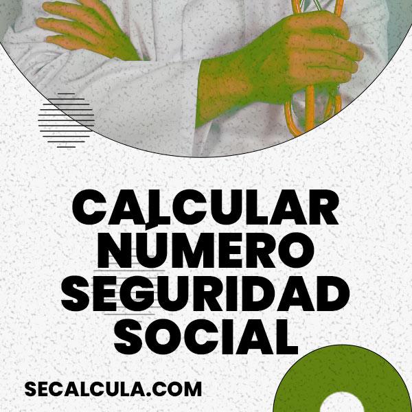 Seguridad Social: Calcular Dígito de Control Número INSS Gratis