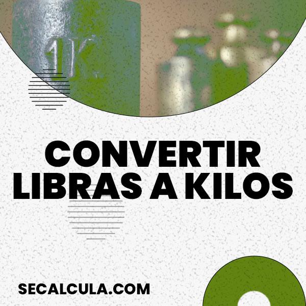 Convierte de Libras a Kilos con nuestra Calculadora Online