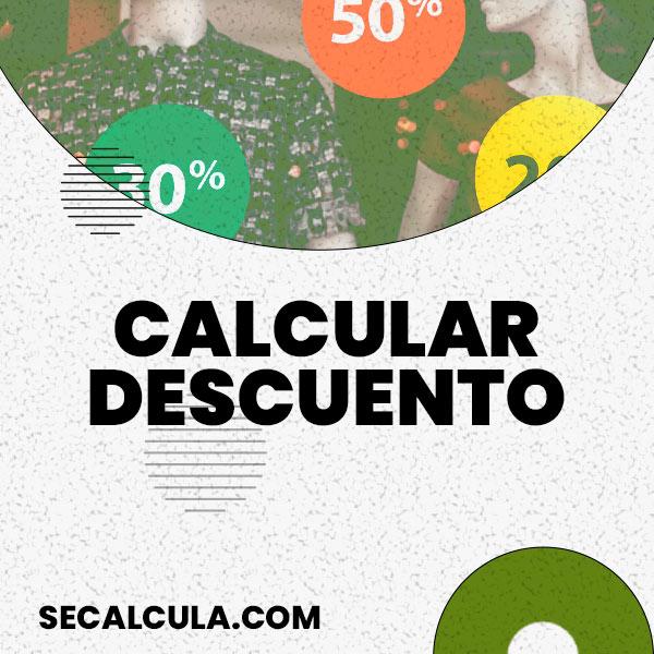 Calculadora de Descuentos Gratis | Calcular Descuento de Precio