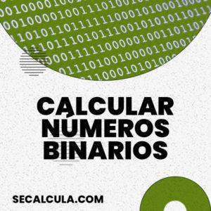 Calculadora de números binarios