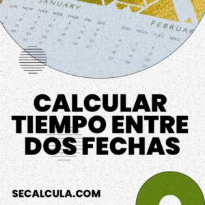 Calcular tiempo entre dos fechas