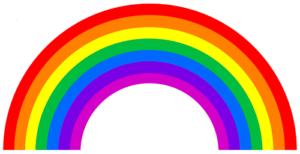 los colores del arcoiris